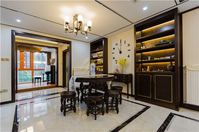 新中式风格餐厅酒柜/架装修效果图